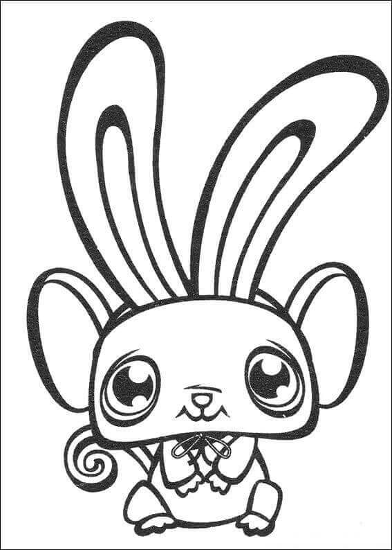 LPS Coloring Pages For Kids