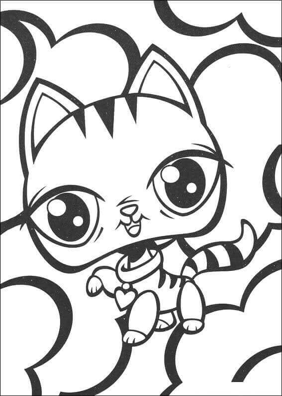 LPS Coloring Pages Free
