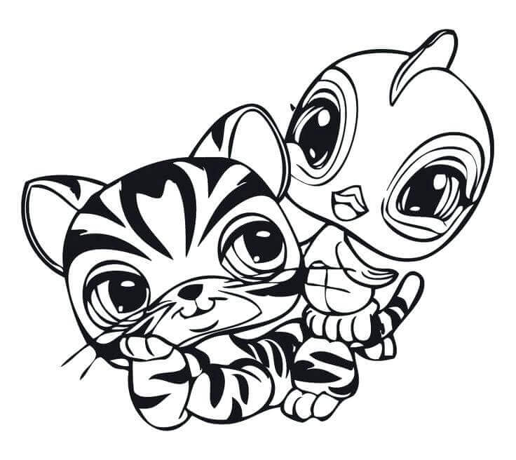 LPS Colouring Pages