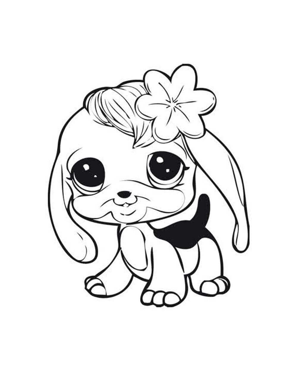 Littlest Pet Shop Coloring Pages For Preschoolers