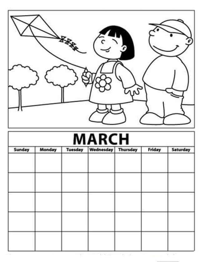 March Activity Sheets Free Printable