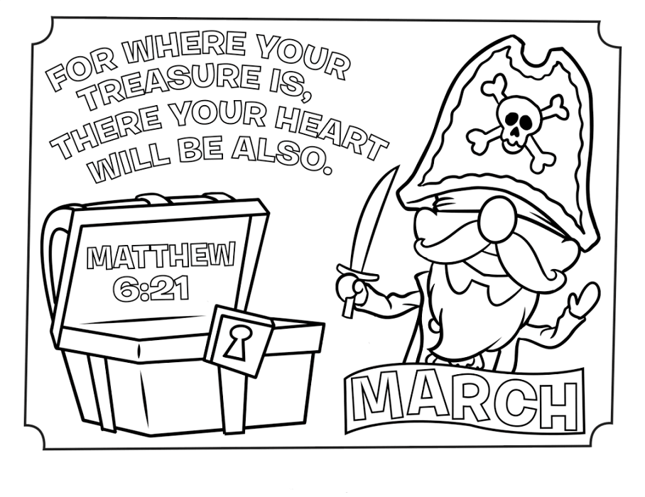 March Coloring Pages To Print