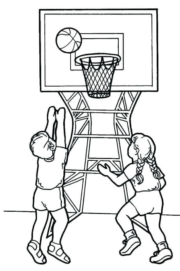 March Madness Coloring Pages Free