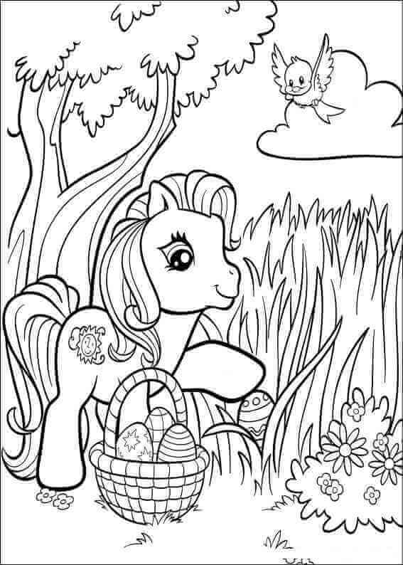 My Little Pony Easter Printables Free