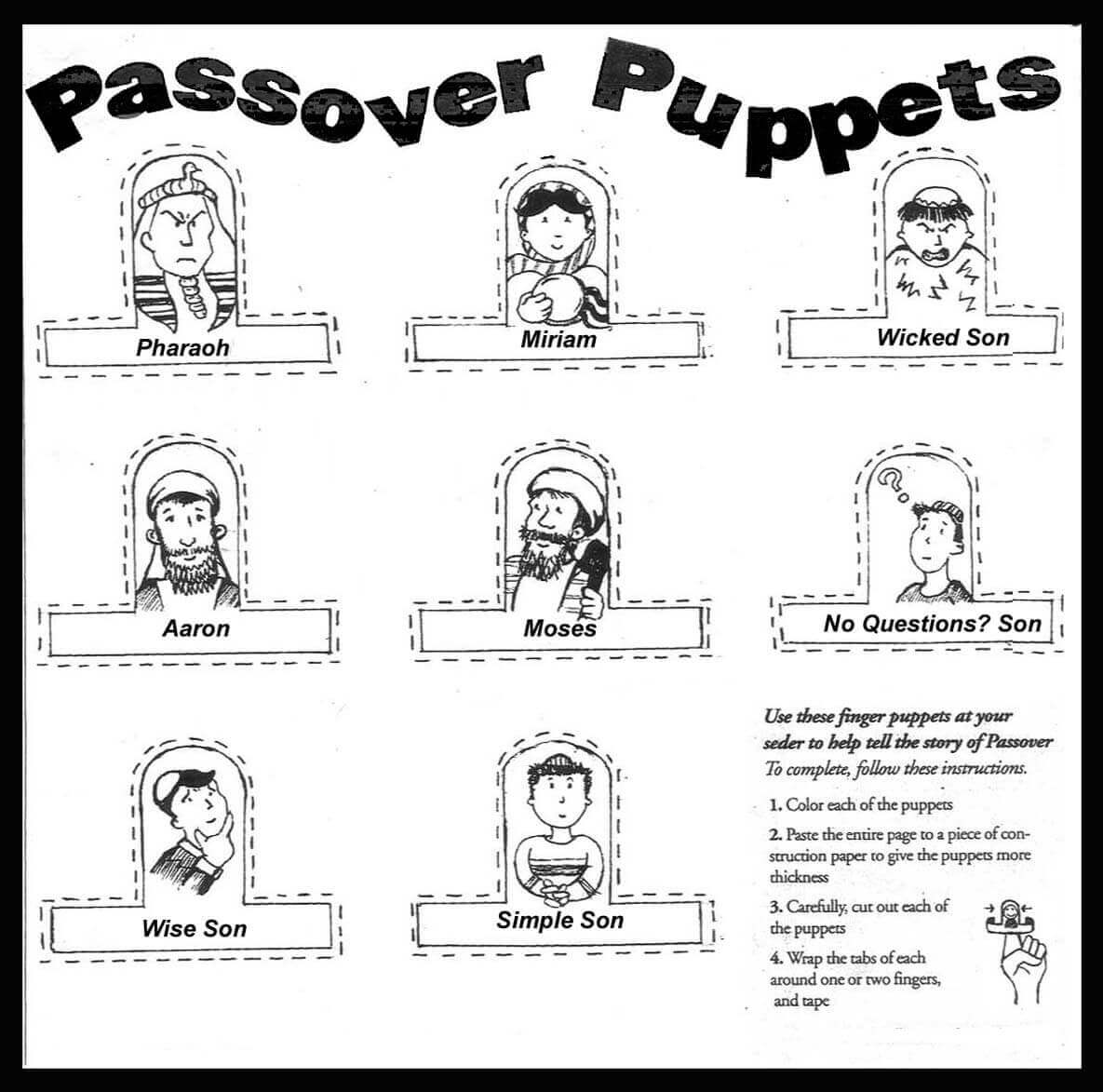 Passover Activity Printables