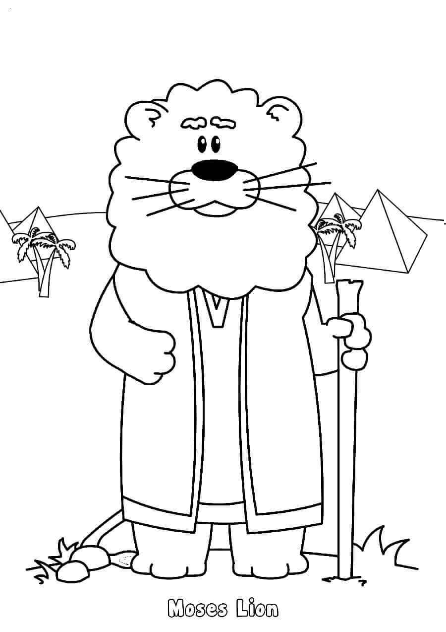 Pesach or Passover Characters Coloring Pages
