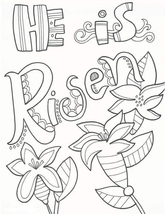 free coloring pages easter jesus - photo#24