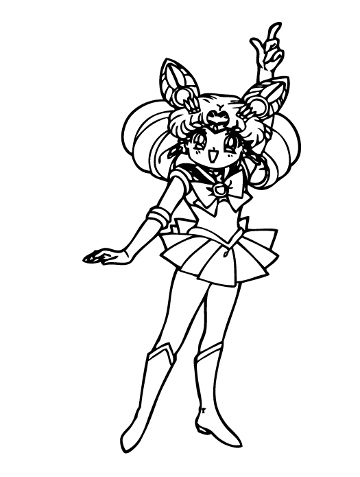 Sailor Saturn Coloring Pages - Bltidm