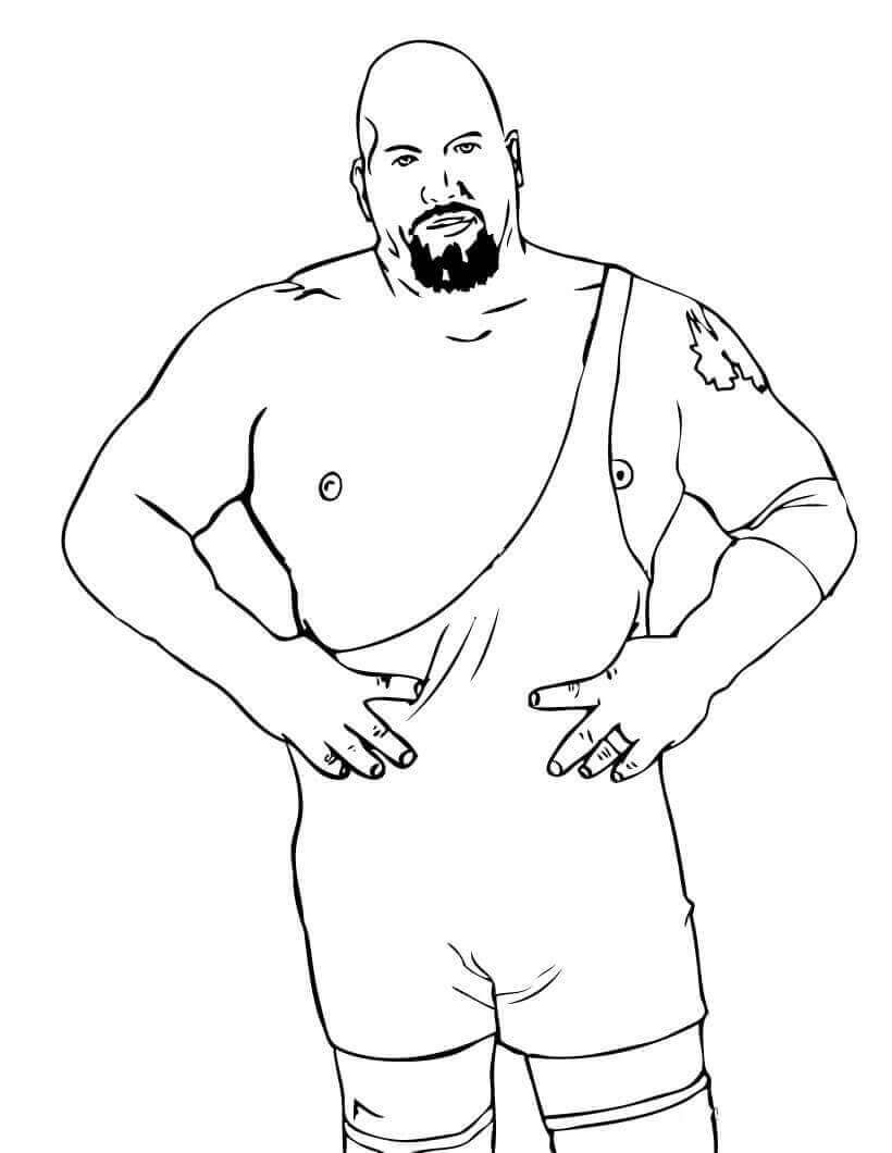 WWE Coloring Sheets The Big Show