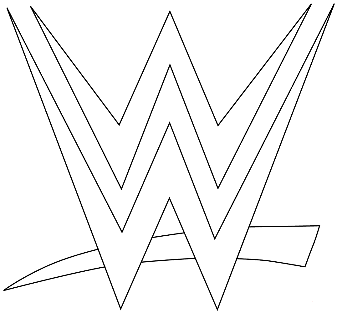 - Free Printable World Wrestling Entertainment Or WWE Coloring Pages