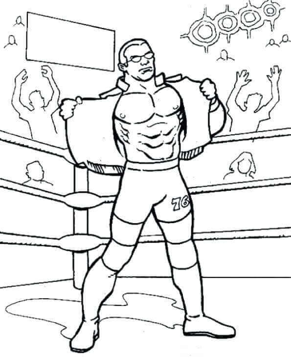 wwe the shield coloring pages - Wwe Coloring Pages
