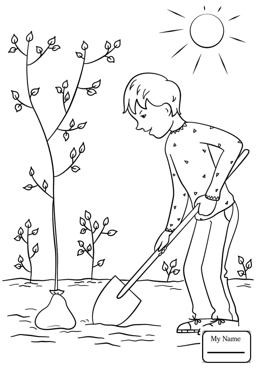 Arbor Day 2018 Coloring Pages