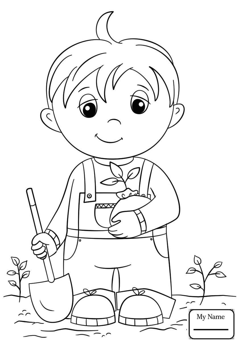 25 Free Printable Arbor Day Coloring Pages