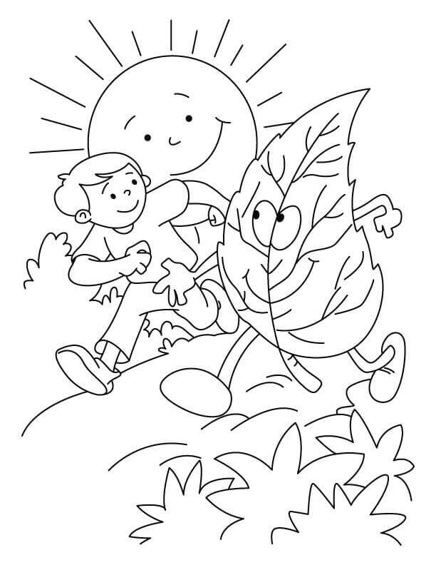 Arbor Day Coloring Pictures For Kids