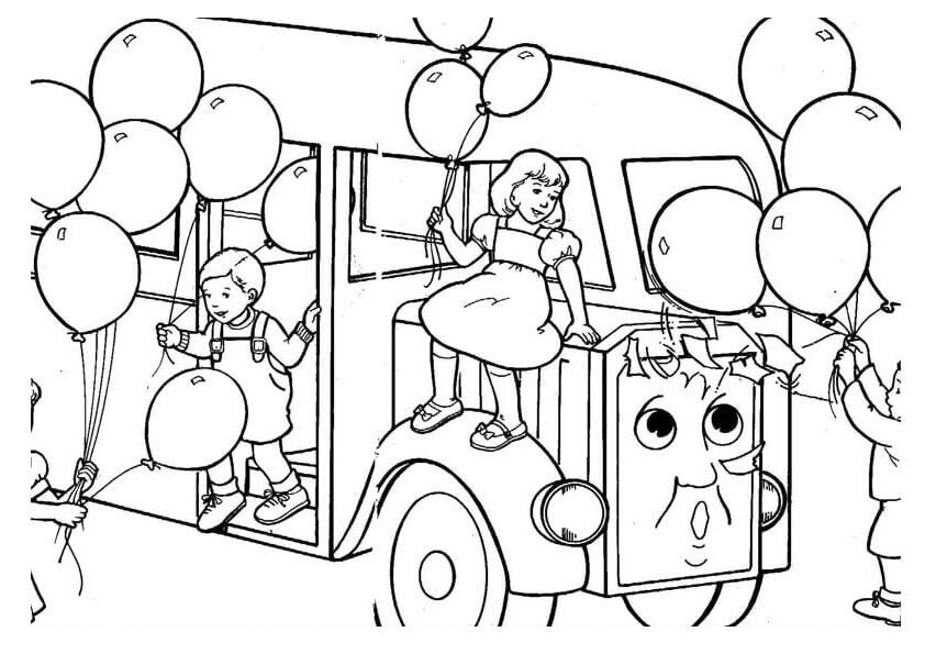 Bertie From Thomas And Friends Coloring Pages