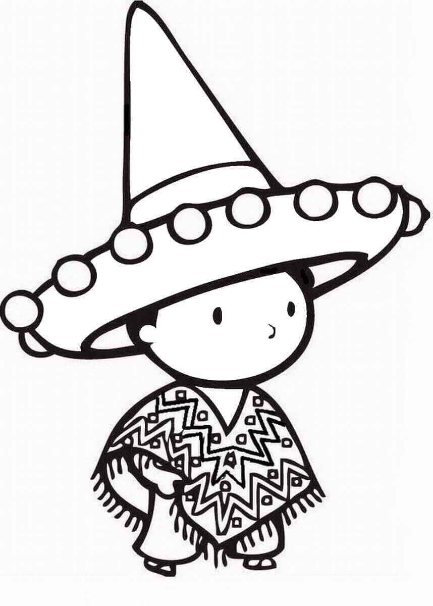 Cute Cinco De Mayo Coloring Pages