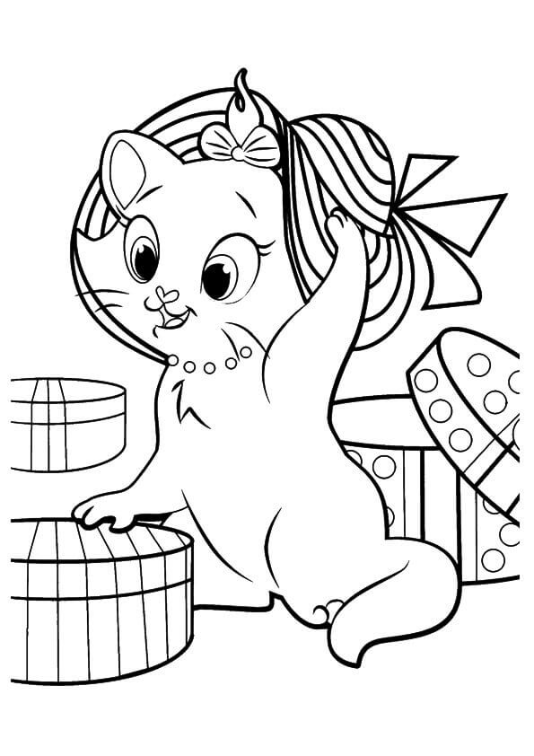 30 Free Printable Kitten Coloring Pages (Kitty Coloring ...