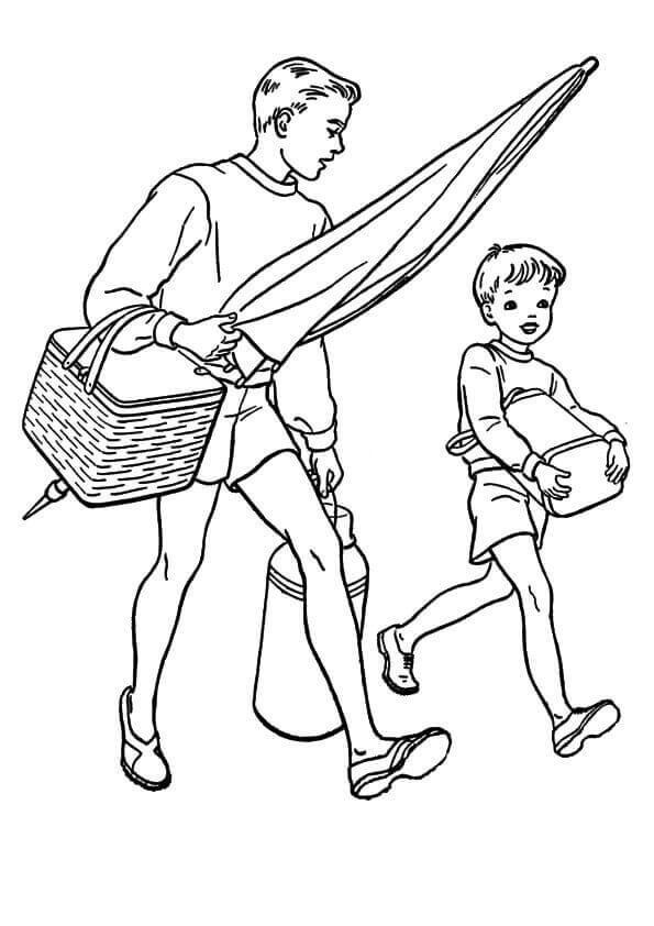 Dad Coloring Pages To Print