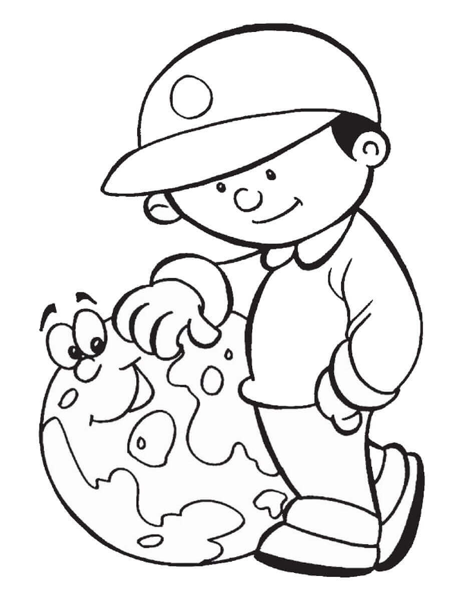 Earth Day Celebration Coloring Pages