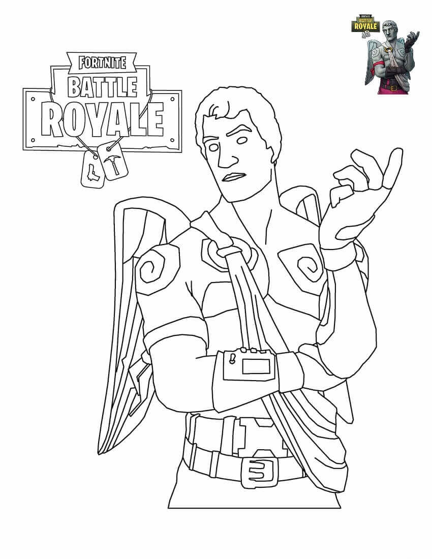 34 Free Printable Fortnite Coloring Pages