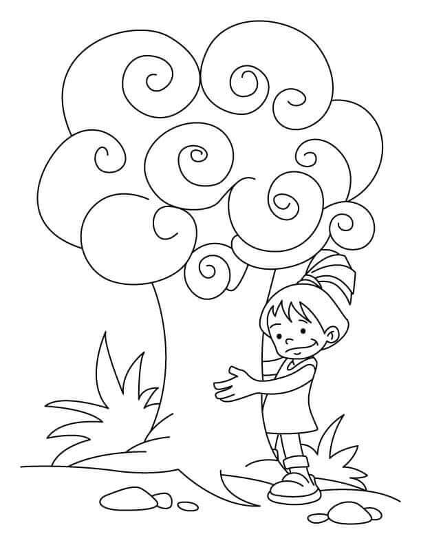 Free Arbor Day Coloring Sheets