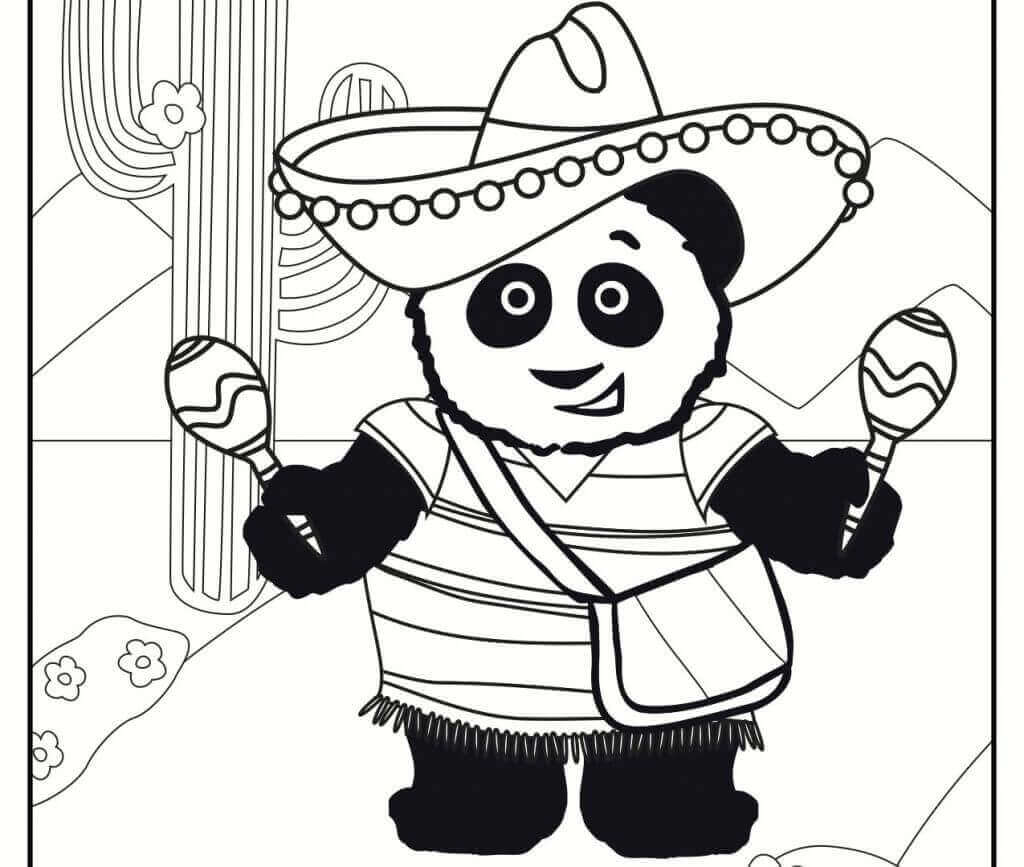 Free Cinco De Mayo Coloring Sheets