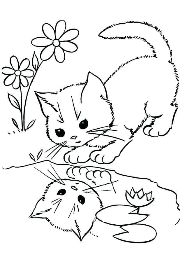 Free Kitty Coloring Pages To Print