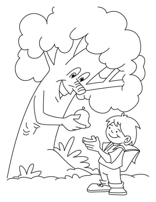 Free National Arbor Day Coloring Pages