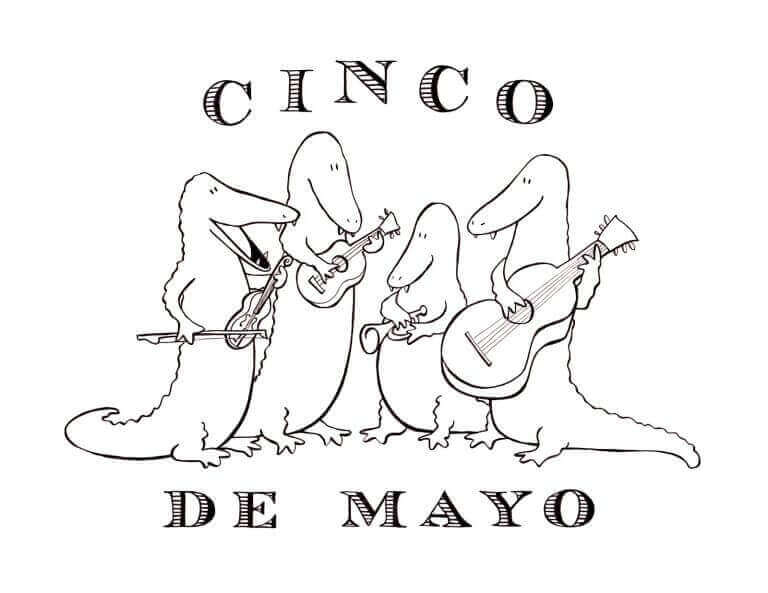 Free Printable Cinco De Mayo Coloring Sheets