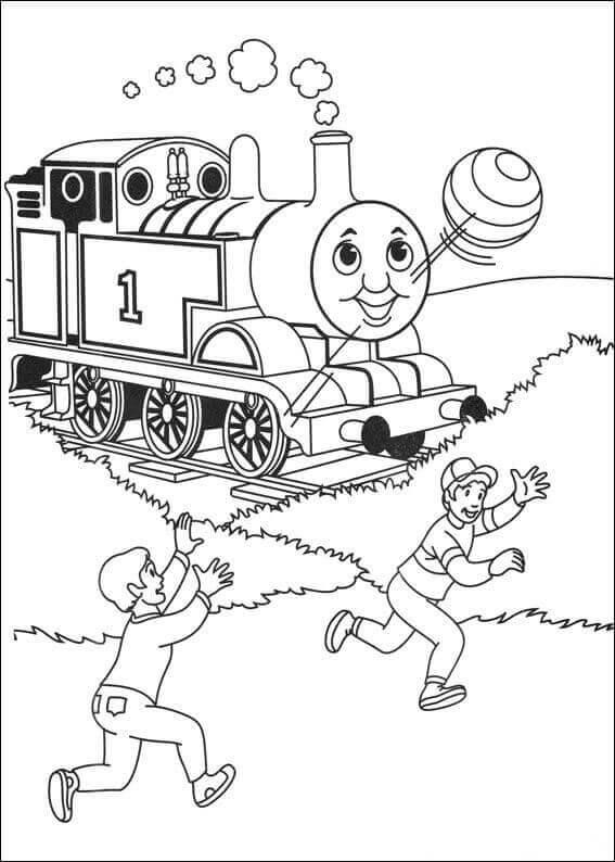 Free Printable Thomas The Train Coloring Sheets