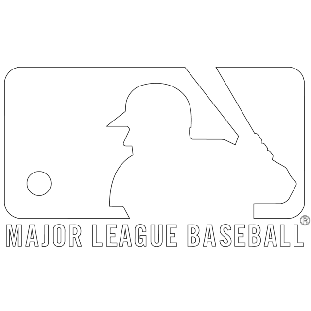 Free Printable MLB Coloring Pages Major League Baseball