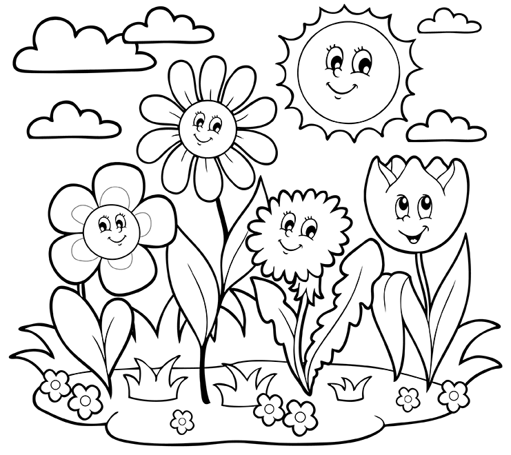 free printable may coloring pages may day coloring pages