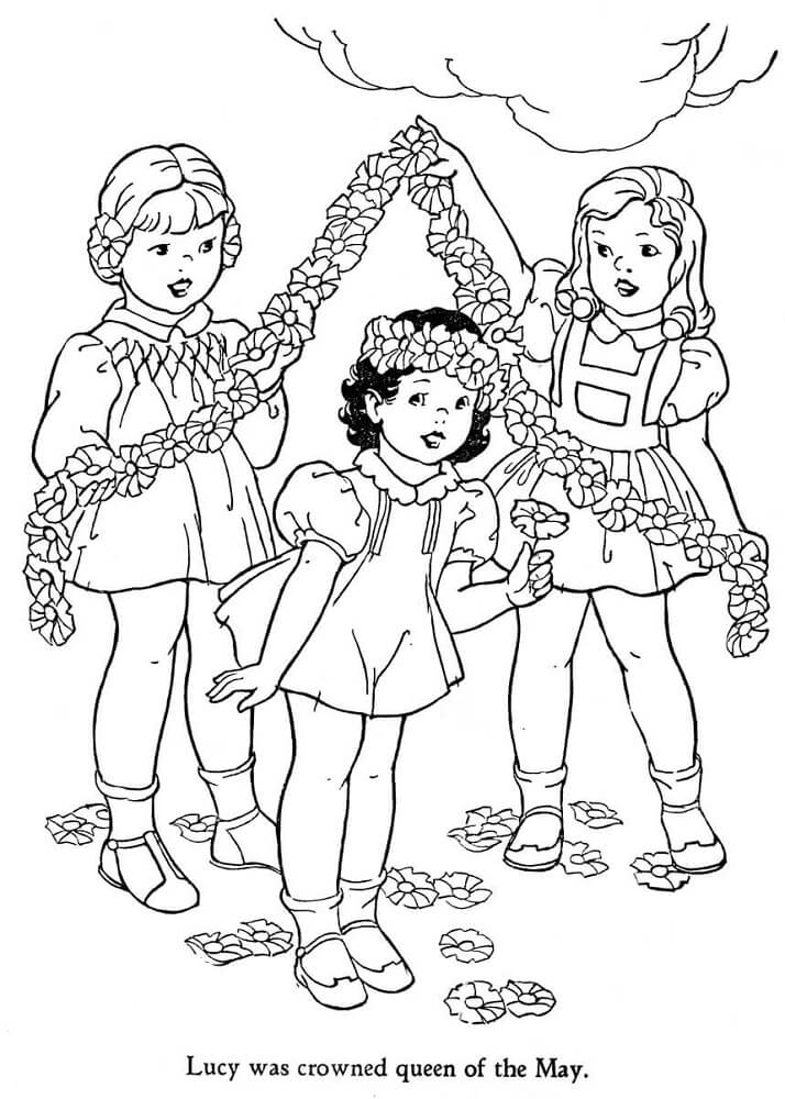May Coloring Pages To Print