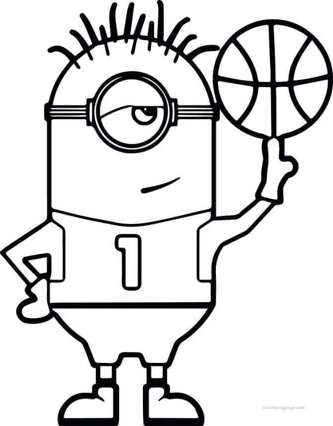 basketball player printable coloring pages - photo#35
