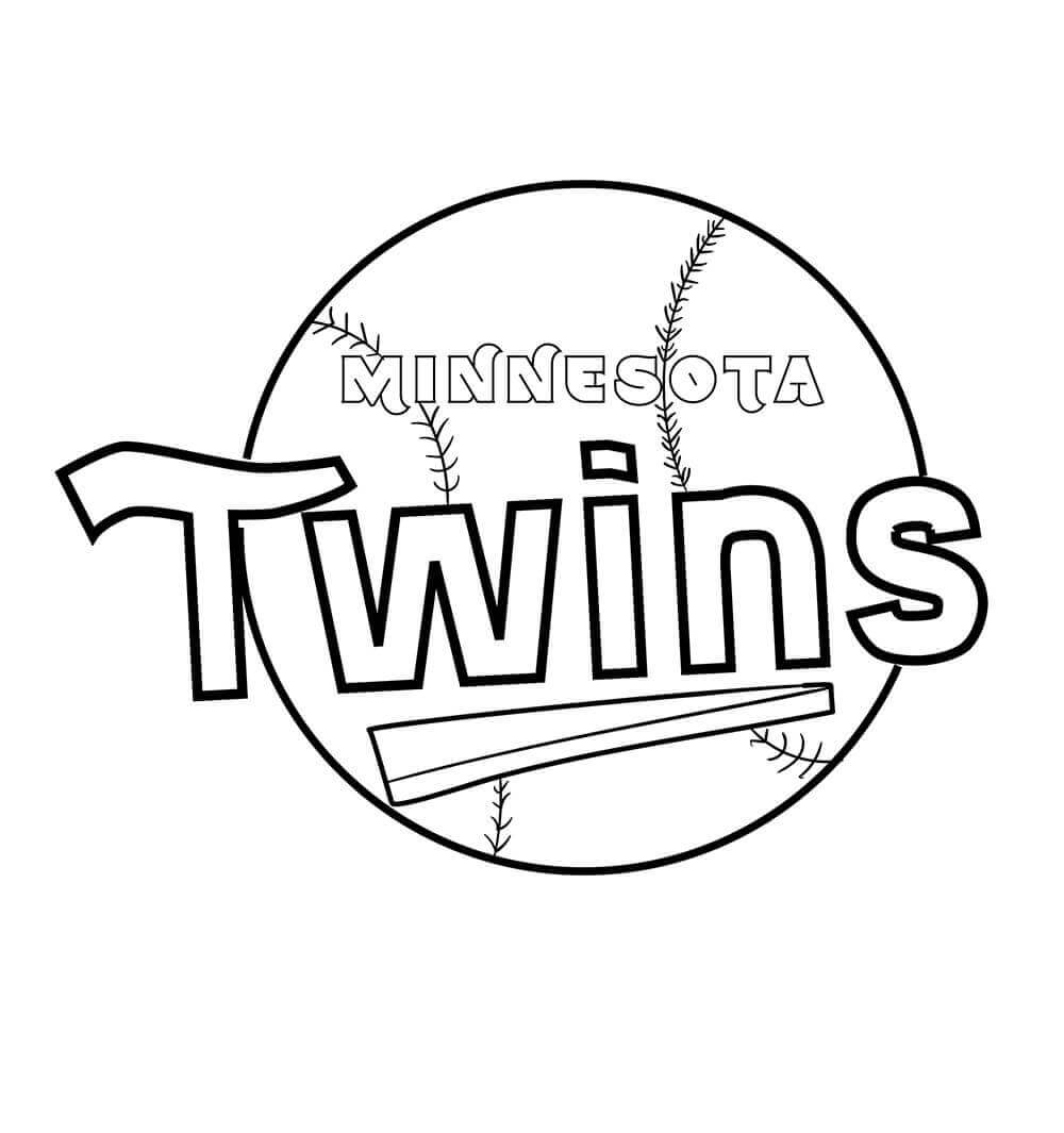 Minnesota Twins Coloring Pages