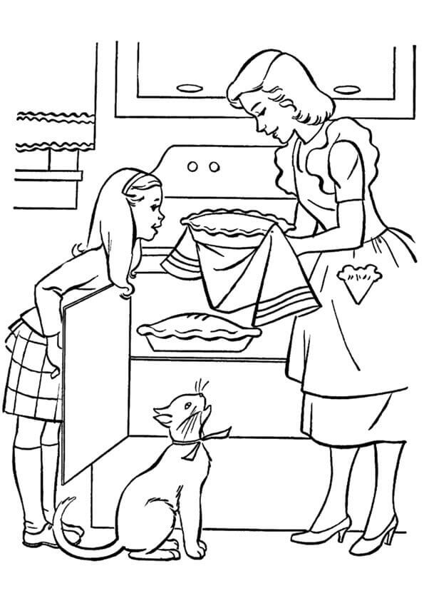 30 Free Printable Mother\'s Day Coloring Pages
