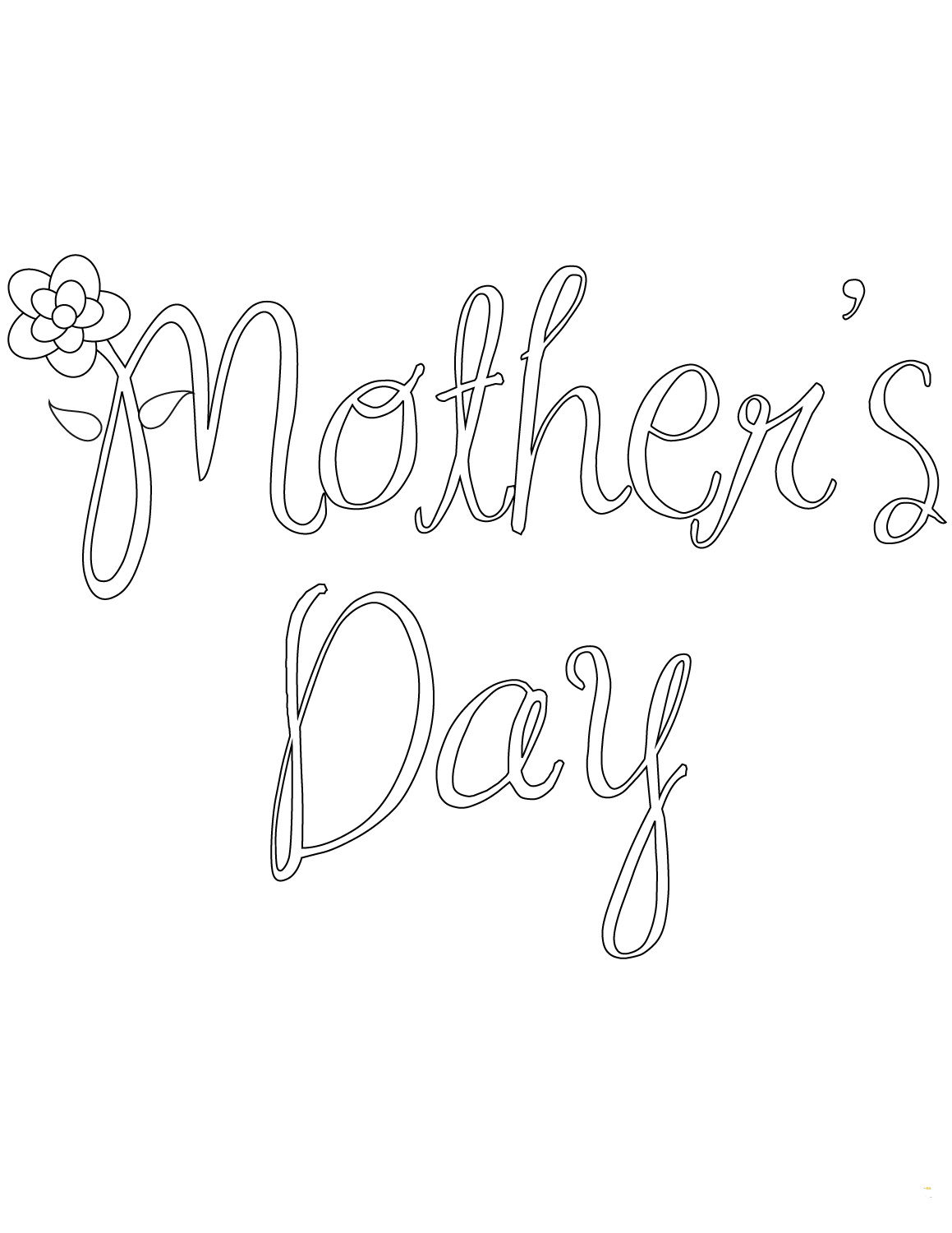 mothers day coloring pages for preschoolers - Coloring Pages Mothers Day