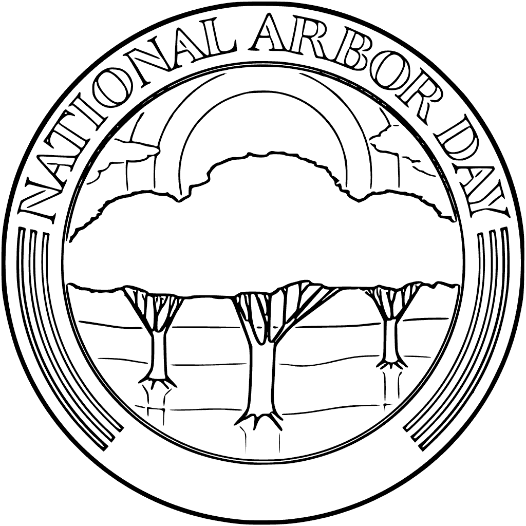 National Arbor Day Coloring Pages