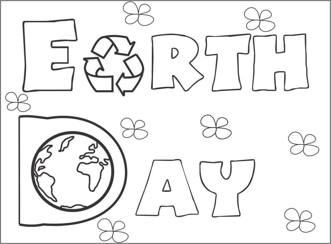 Printable Earth Coloring Pages For Preschoolers