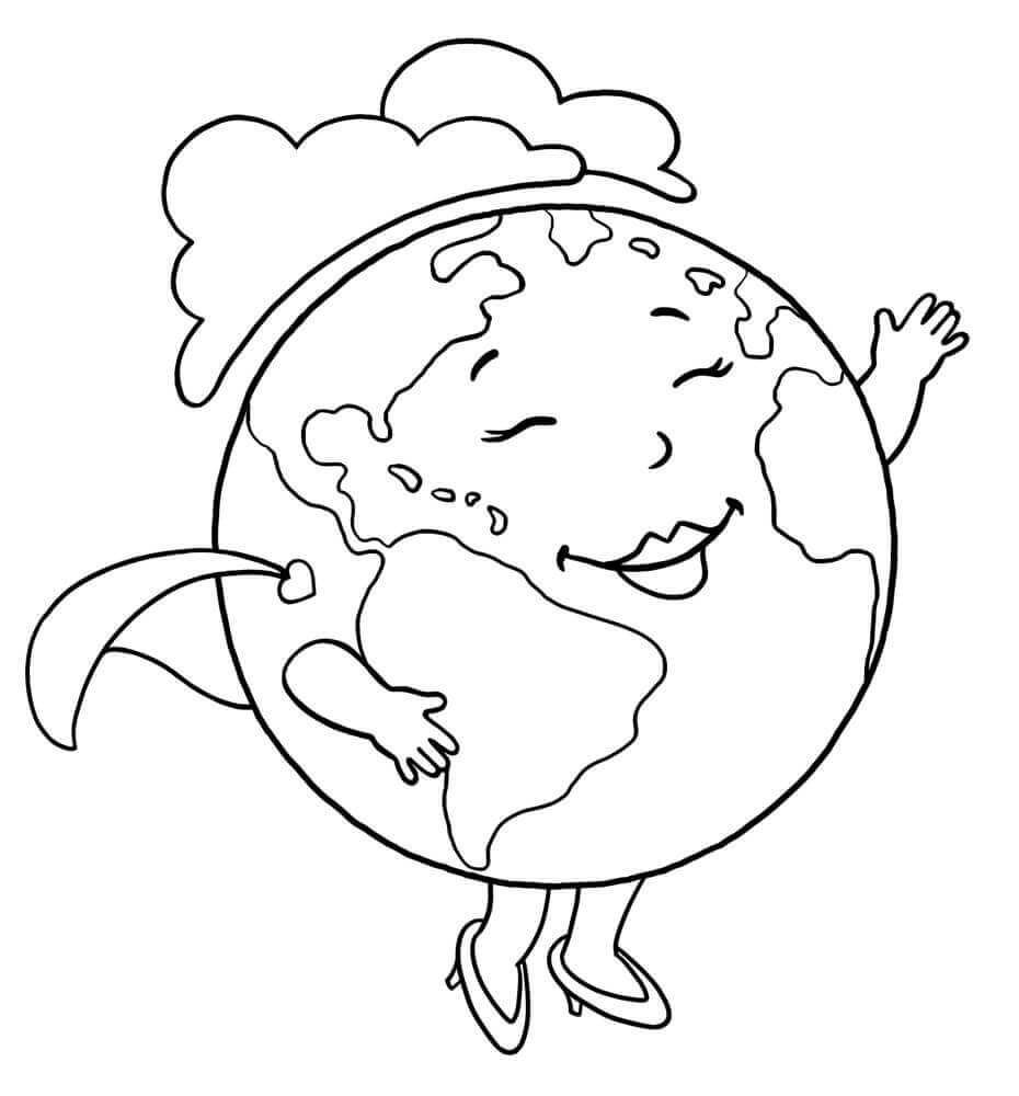 Printable Earth Day Coloring Pages