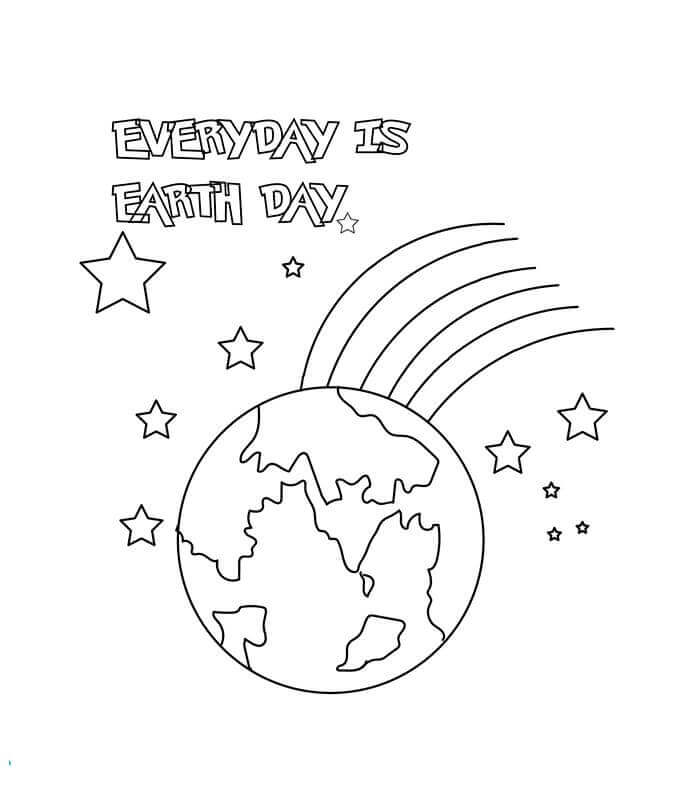 Printable Earth Template