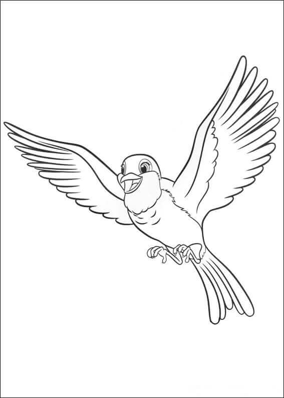Sofia The First Coloring Pages Robin