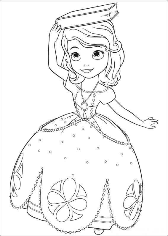 Sofia The First Coloring Sheets To Print