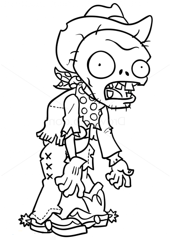 Swashbuckler Plants vs Zombies Coloring Page