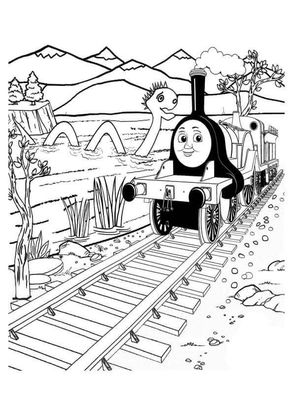 30 Free Printable Thomas the Train Coloring Pages (Thomas And ...