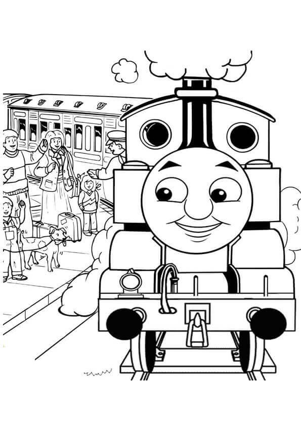 Thomas And Friends Coloring Pages Fergus
