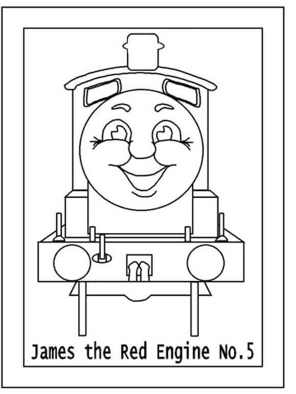 🎨 Thomas And Friends 01 - Kizi Free 2020 Printable Coloring Pages ... | 771x580