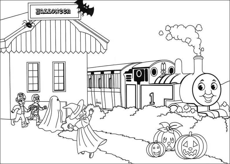 30 Free Printable Thomas The Train Coloring Pages And