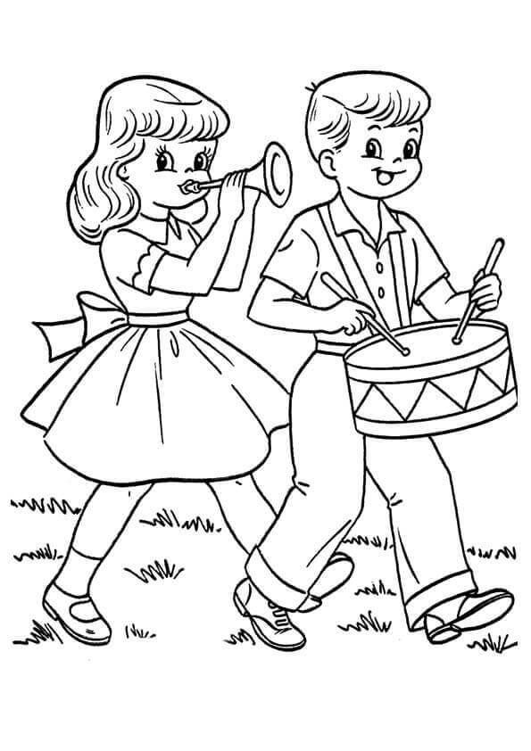 4th Of July Coloring Pages For Kids