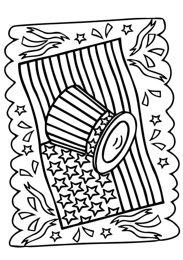 4th Of July Independence Day Coloring Pages For Kids